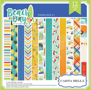 Beach Day Paper Pack 1