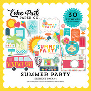 Summer Party Element Pack 1
