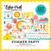 Summer Party Element Pack 2