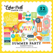Summer Party Element Pack 3
