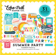 Summer Party Element Pack 4