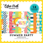 Summer Party Paper Pack 1