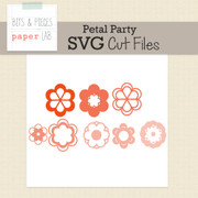 Petal Party Cut Files