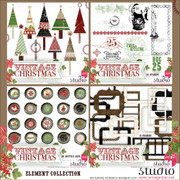 VINTAGE CHRISTMAS Mega Element Collection