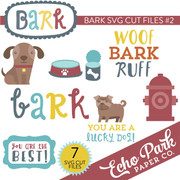 Bark Die Cut Shapes #2