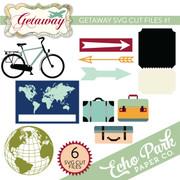 Getaway SVG Die Cut Shapes #1
