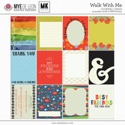Walk With Me | Journal Cards