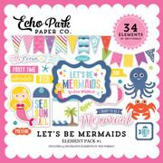 Let's Be Mermaid Element Pack #1