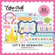 Let's Be Mermaid Element Pack #2