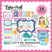 Let's Be Mermaid Element Pack #3