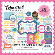 Let's Be Mermaid Element Pack #4
