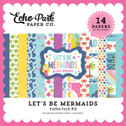 Let's Be Mermaid Paper Pack #2