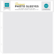 Copy of 12x12 Page Protectors Made For All 3-Ring Albums     50- Pack