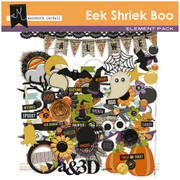 Eek Shriek Boo Element Pack