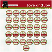Love and Joy Countdown Numbers