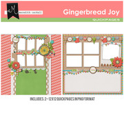 Gingerbread Joy QuickPages