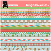 Gingerbread Joy Papers