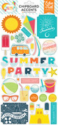 Summer Party 6x13 Chipboard