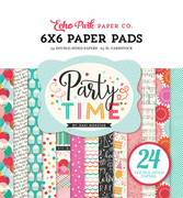 Party Time 6x6 Paper Pads