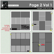 Page 2 Templates Volume 1