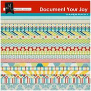 Document Your Joy Paper Pack