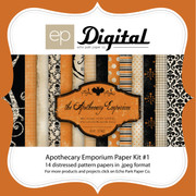 Apothecary Halloween Paper Pack #1