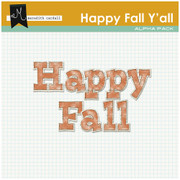 Happy Fall Y'all Alpha Pack
