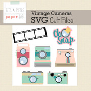 Vintage Camera Cut Files