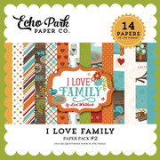I Love Family Paper Pack 2