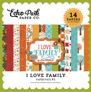 I Love Family Paper Pack 1