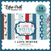 I Love Winter Paper Pack 1