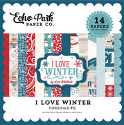 I Love Winter Paper Pack 2