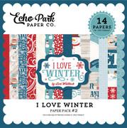 I Love Winter Paper Pack 2
