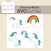 Unicorn World Cut Files