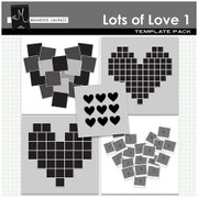 Lots of Love Wall Templates 1