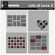 Lots of Love Wall Templates 2