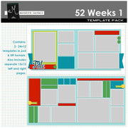 52 Weeks Templates Pack 1