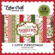 I Love Christmas Paper Pack #2