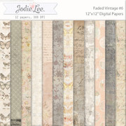 Faded Vintage Papers #6