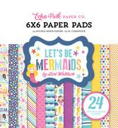 Let's Be Mermaids 6x6 Paper Pad