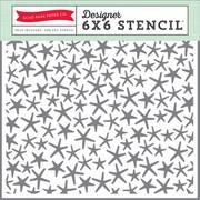 Let's Be Mermaids Starfish Stencil