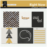 Right Now Journal Cards