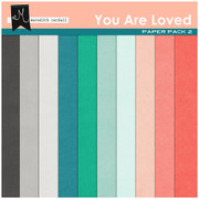 You Are Loved Paper Pack 2