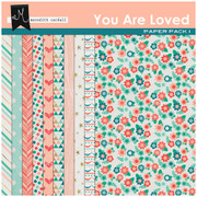 You Are Loved Paper Pack 1