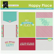 Happy Place Journal Cards