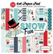 Snow Fun Paper Pad