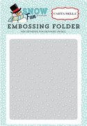 Snow Fun Embossing Folder - Falling Snow