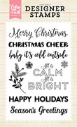 Calm & Bright 4x6 Stamp