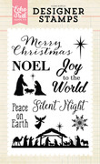 Silent Night 4x6 Stamp