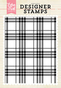 Perfect Plaid A2 Background Stamp